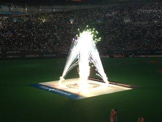 勝利の花火!