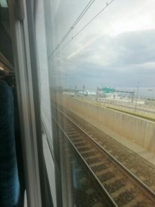 1電車で出発