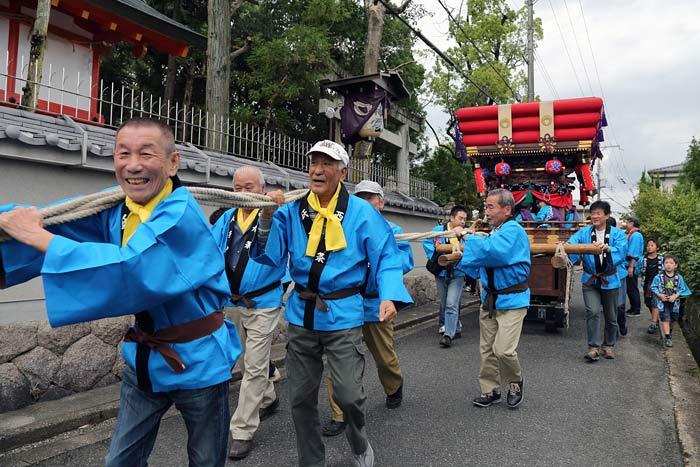 倭文神社 蛇祭り9