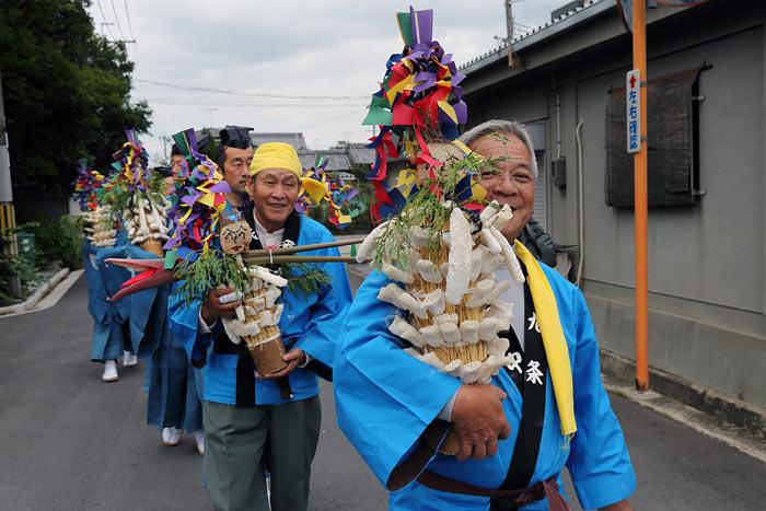 倭文神社 蛇祭り3