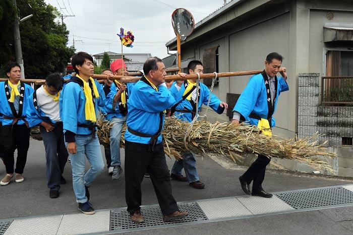 倭文神社 蛇祭り4