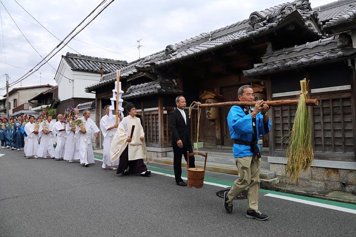 倭文神社 蛇祭り1