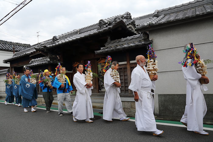 倭文神社 蛇祭り2