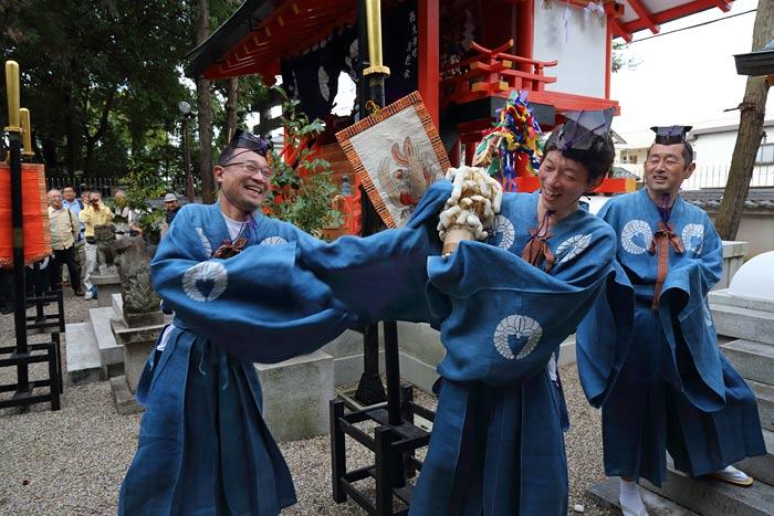 倭文神社 蛇祭り5