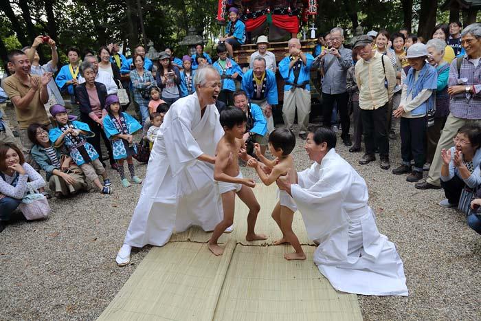 倭文神社 蛇祭り7