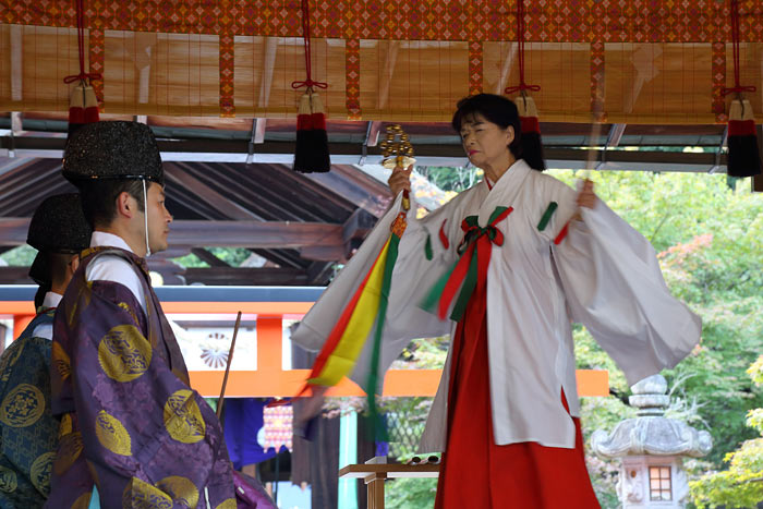 龍田大社 秋祭り1
