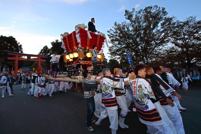 龍田大社 秋祭り2