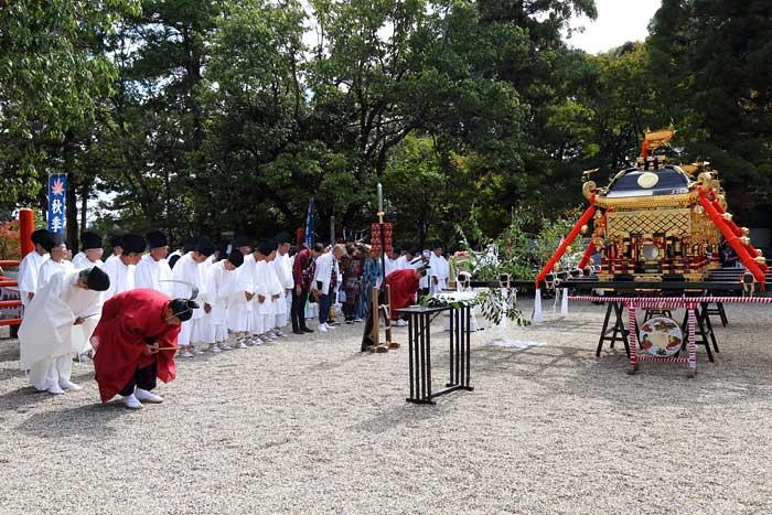 龍田大社 秋祭り3