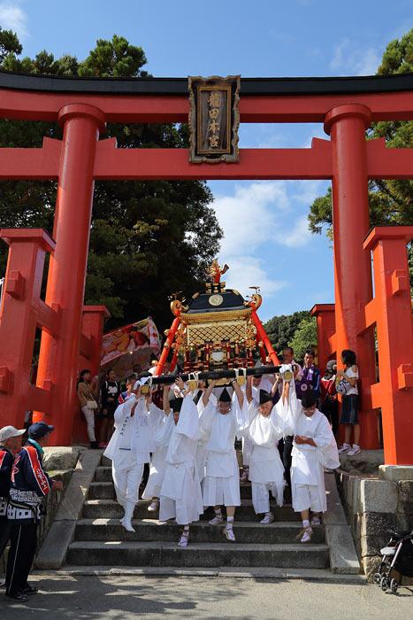 龍田大社 秋祭り4