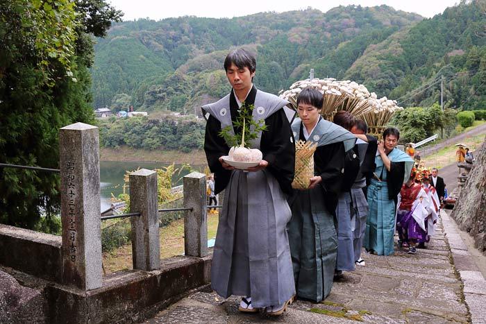 桃香野八幡神社 秋祭り1
