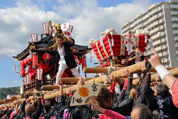 墨坂神社 秋祭り/太鼓台