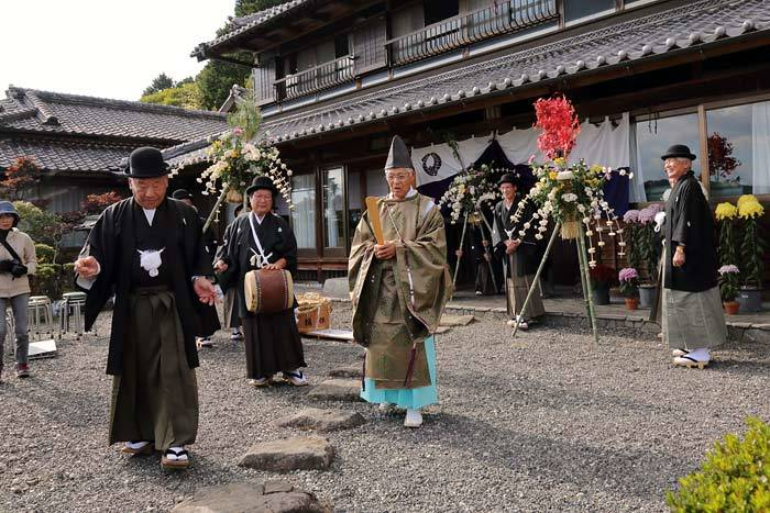 白石国津神社 ふる祭り1
