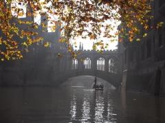 auf dem Fluss Cam