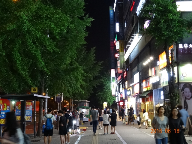 夜の韓国 1
