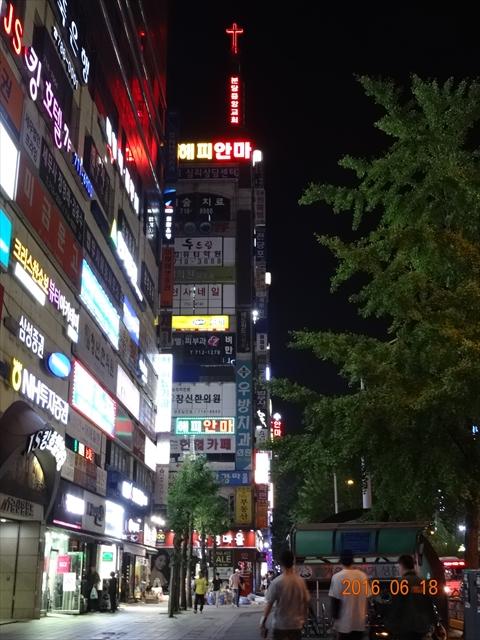 夜の韓国 7