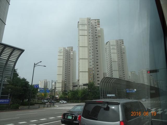 車窓からの韓国