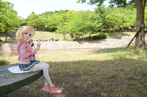 小隠里@水辺の公園