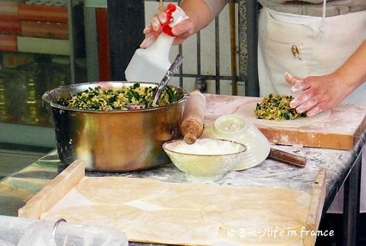 台湾の韮菜盒②