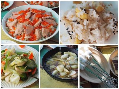 料理芋煮会