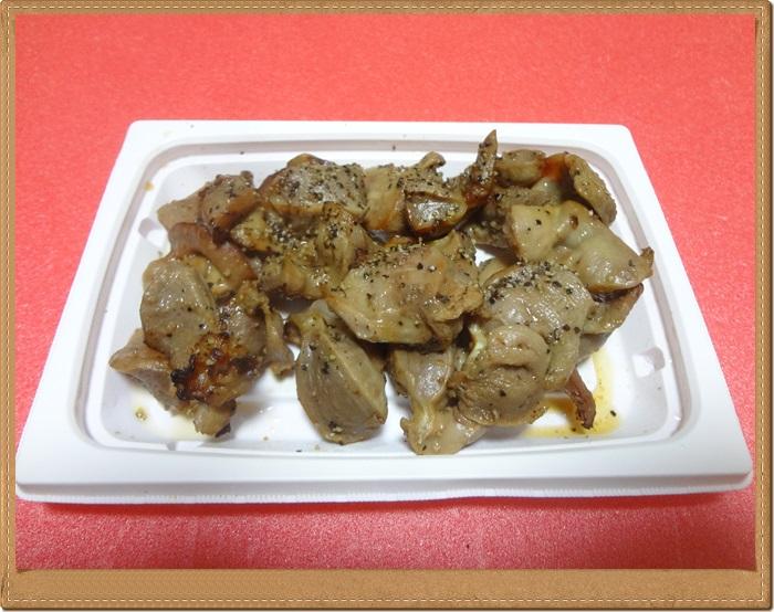 砂肝黒胡椒焼きDSC08110