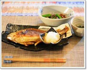 偶には焼き魚