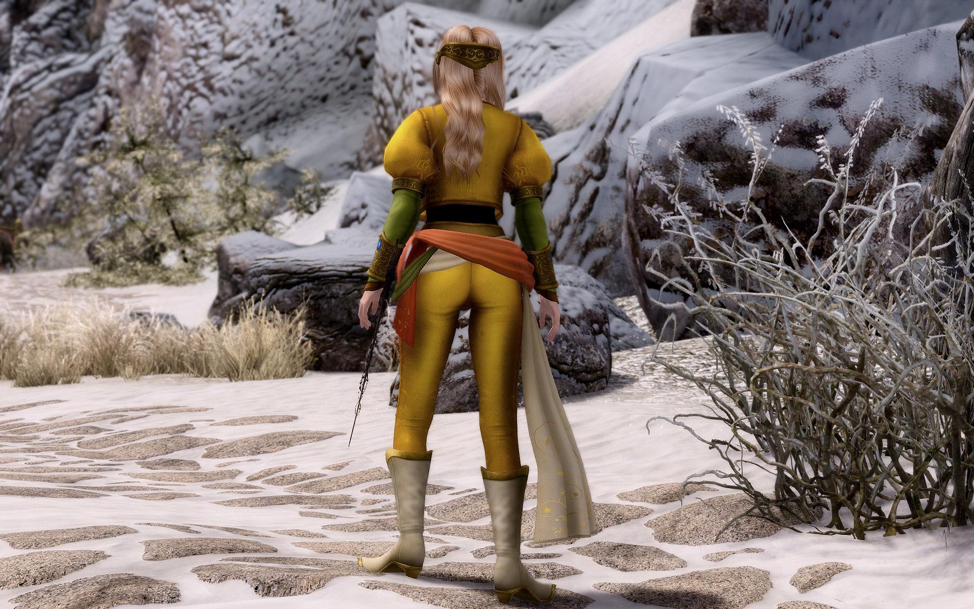 Final Fantasy Ⅵ Celes Outfits & Sword Renewal