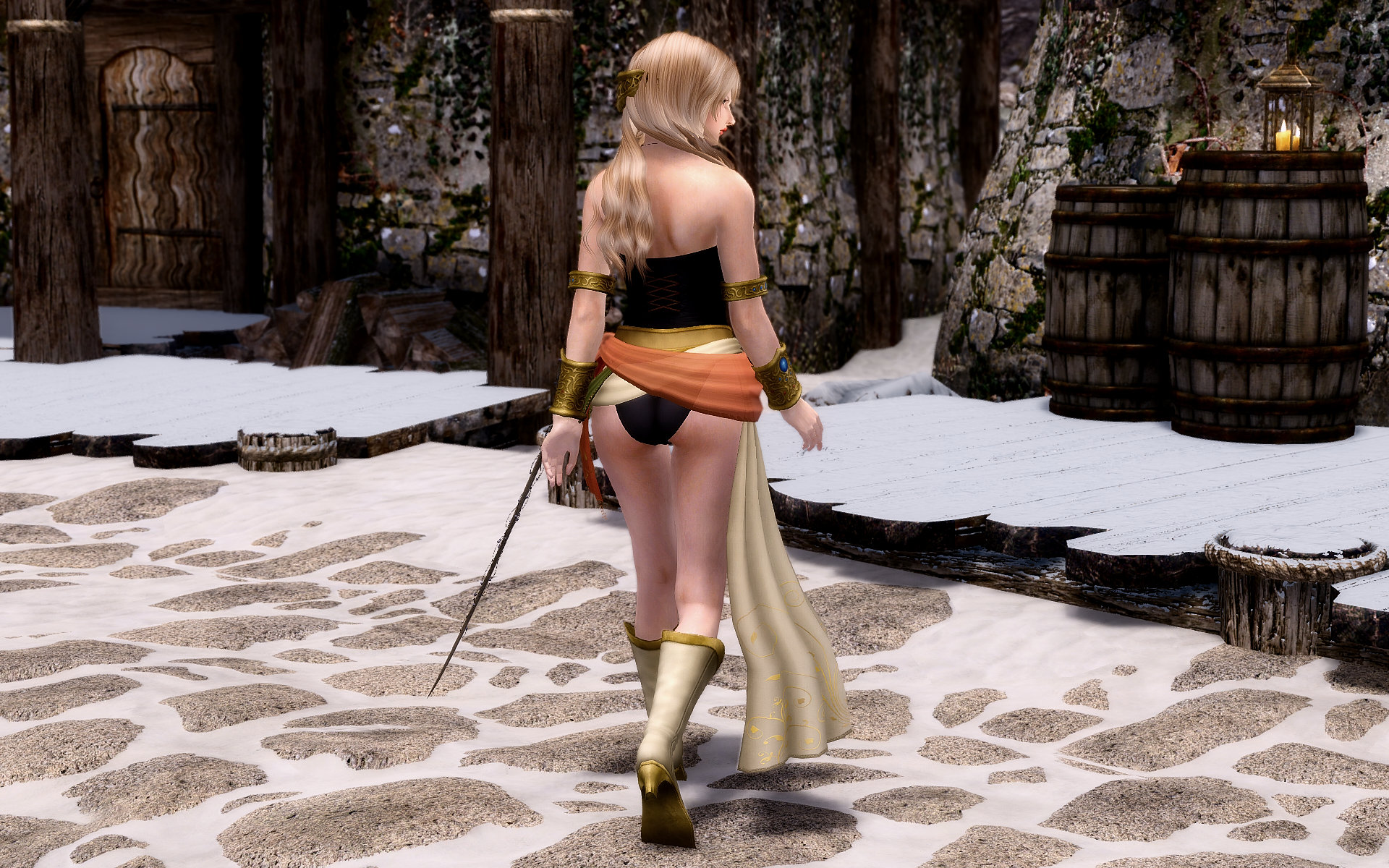 Final Fantasy Ⅵ Celes Outfits & Sword Renewal