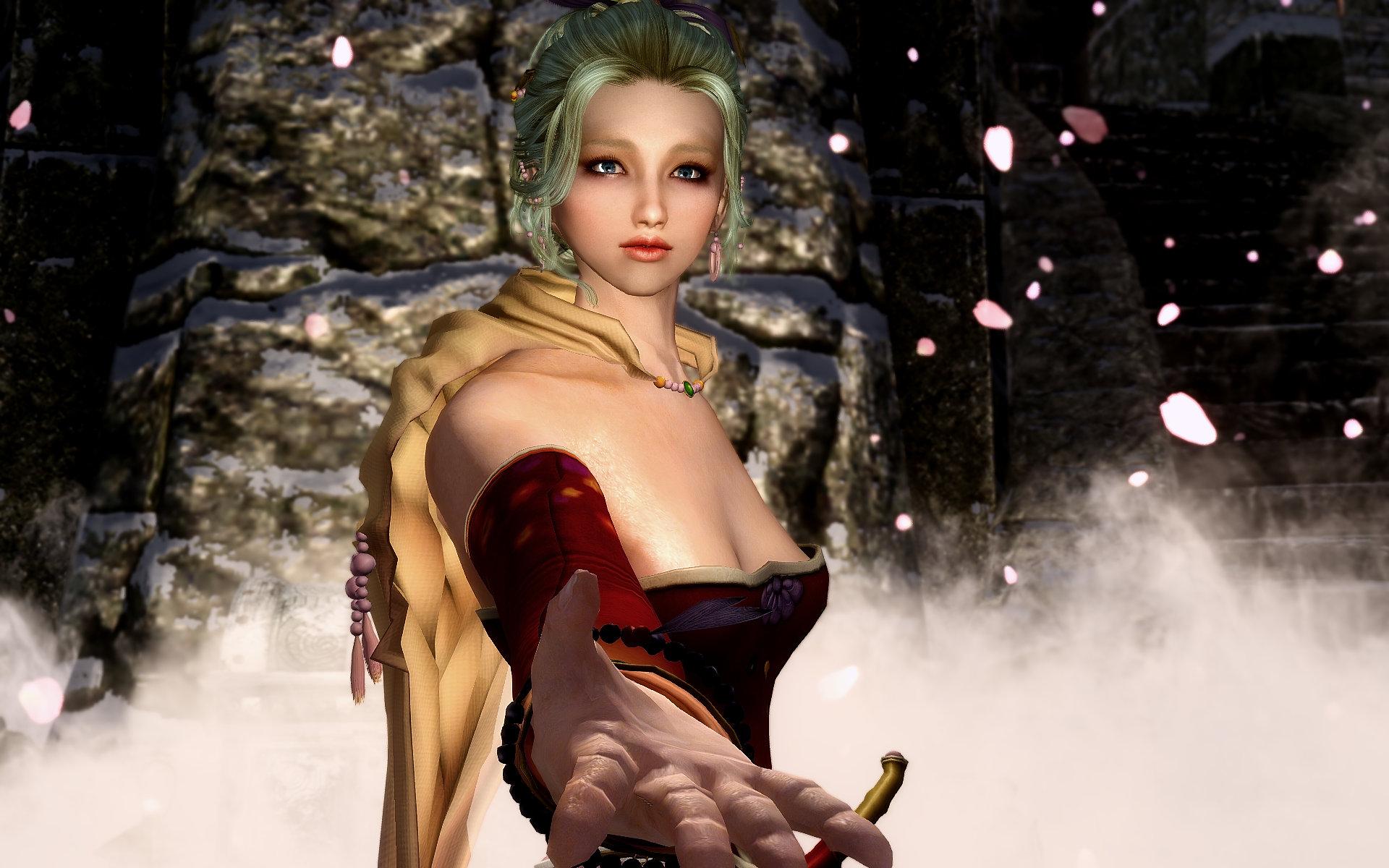 Final Fantasy Ⅵ Tina Outfit & Sword Renewal