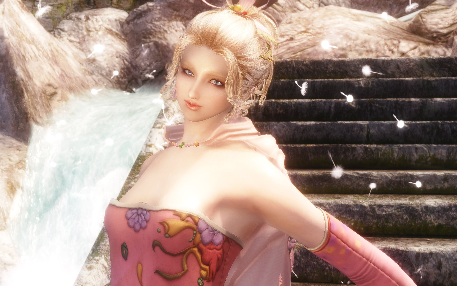 FF6 Tina(Terra) Outfit Pink Style