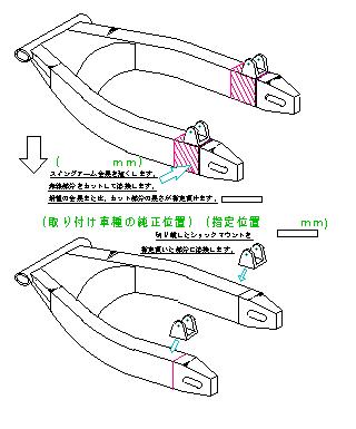 流用スイングアーム加工表2