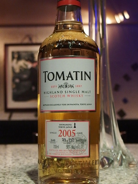 Tomatin 2005 10y Bourbon_600