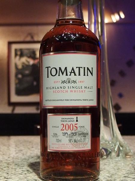 Tomatin 2005 10y Sherry_600