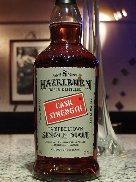 HAZELBURN 8y Cask Strength_600