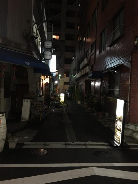 東京路地裏の老舗焼き鳥屋