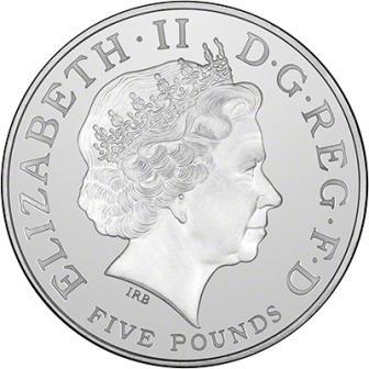2016519女王80thコイン