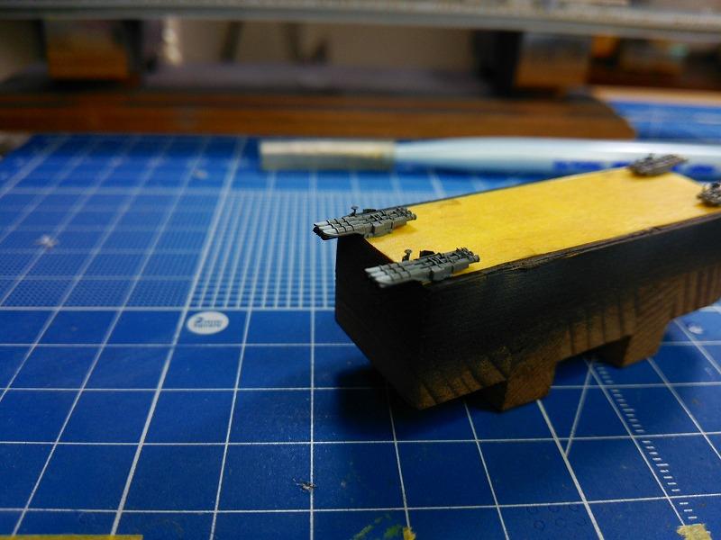 s-魚雷発射管塗装完了時
