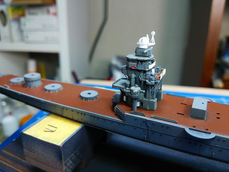 s-艦橋塗装完了時
