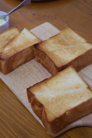 プルマンをトースト