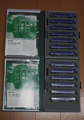 KATO 14系15型 あかつき