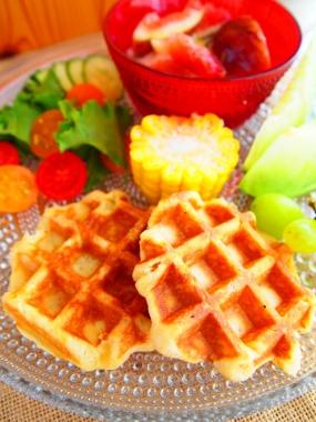 Belgium waffle