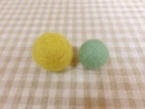 10月羊毛ボールル2