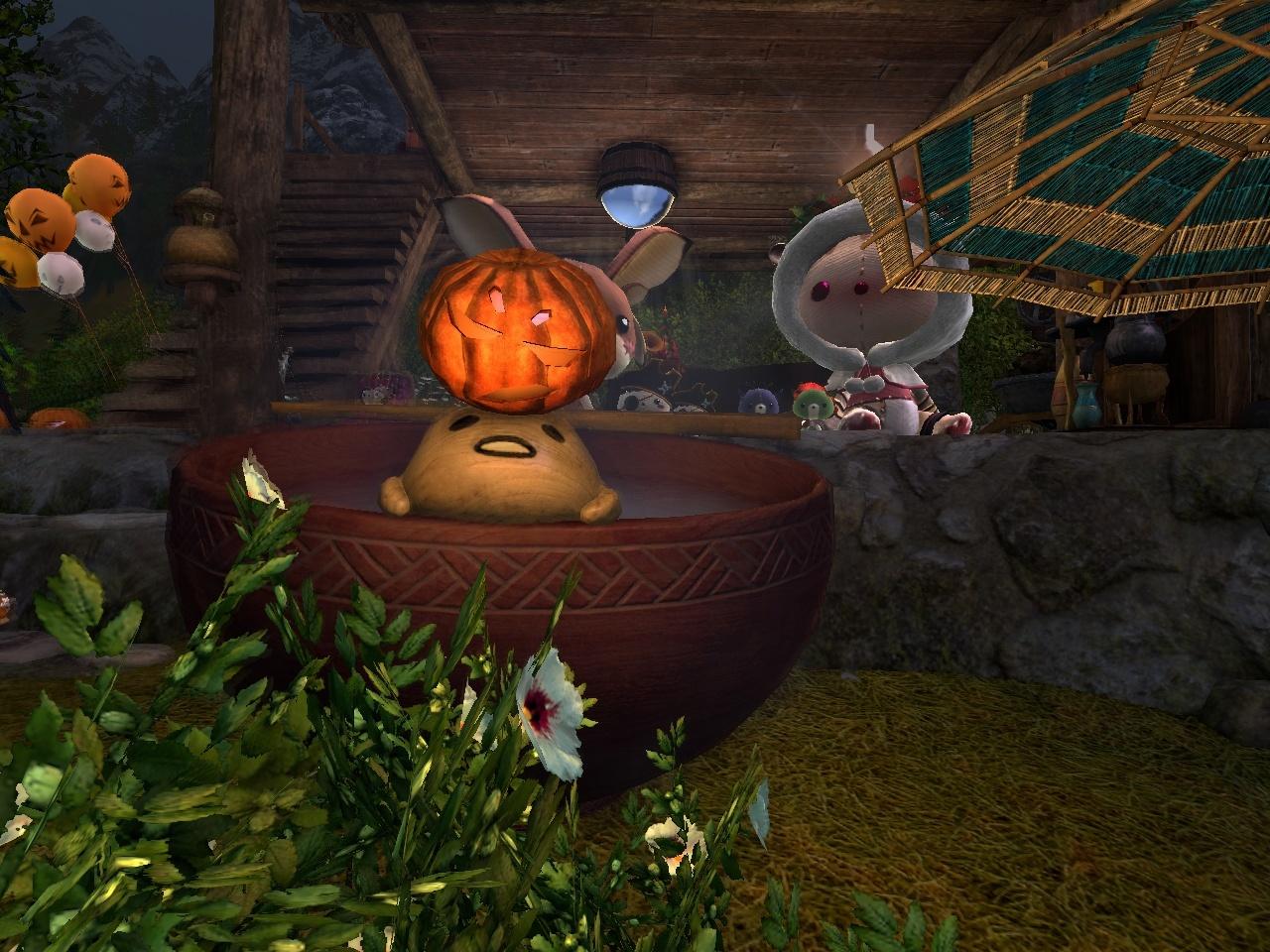 かぼちゃランプ