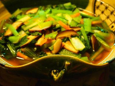 小松菜にびたし
