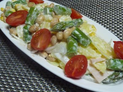 アスパラポテトサラダ