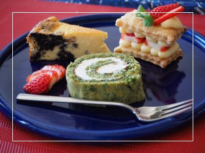ケーキピザ・ケーキ作り