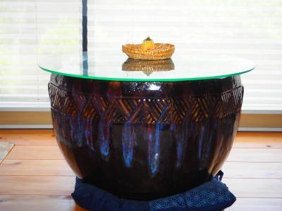 火鉢テーブル1