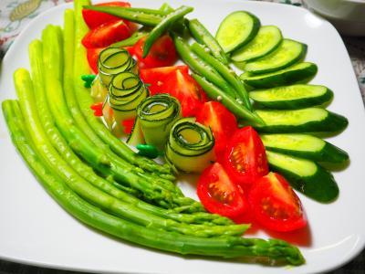 夏野菜さららだ
