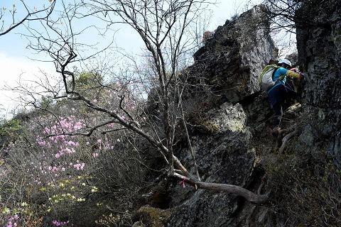 岩稜ルート入口