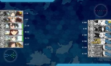 2016春イベE-6 ゲージ破壊2