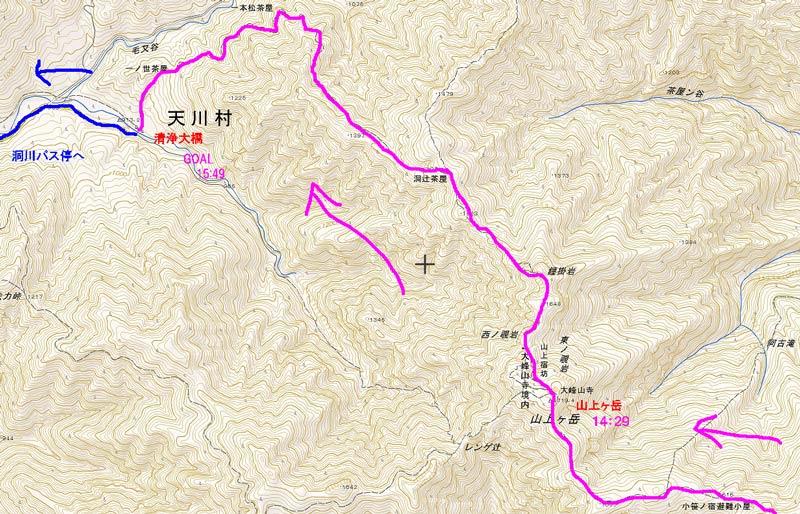 ワサビ谷map1111